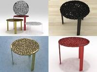 3D model t-table kartell