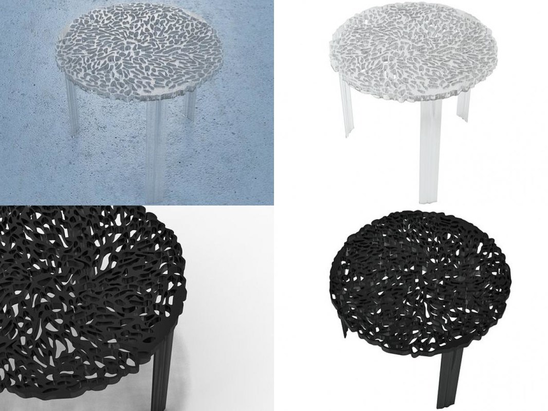 3D model t-table kartell - TurboSquid 1183573