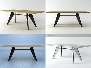 em table 3D model
