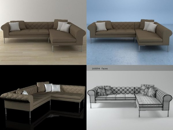barocco version 01 3D model