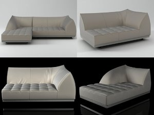 3D model vertigo sofa lounge