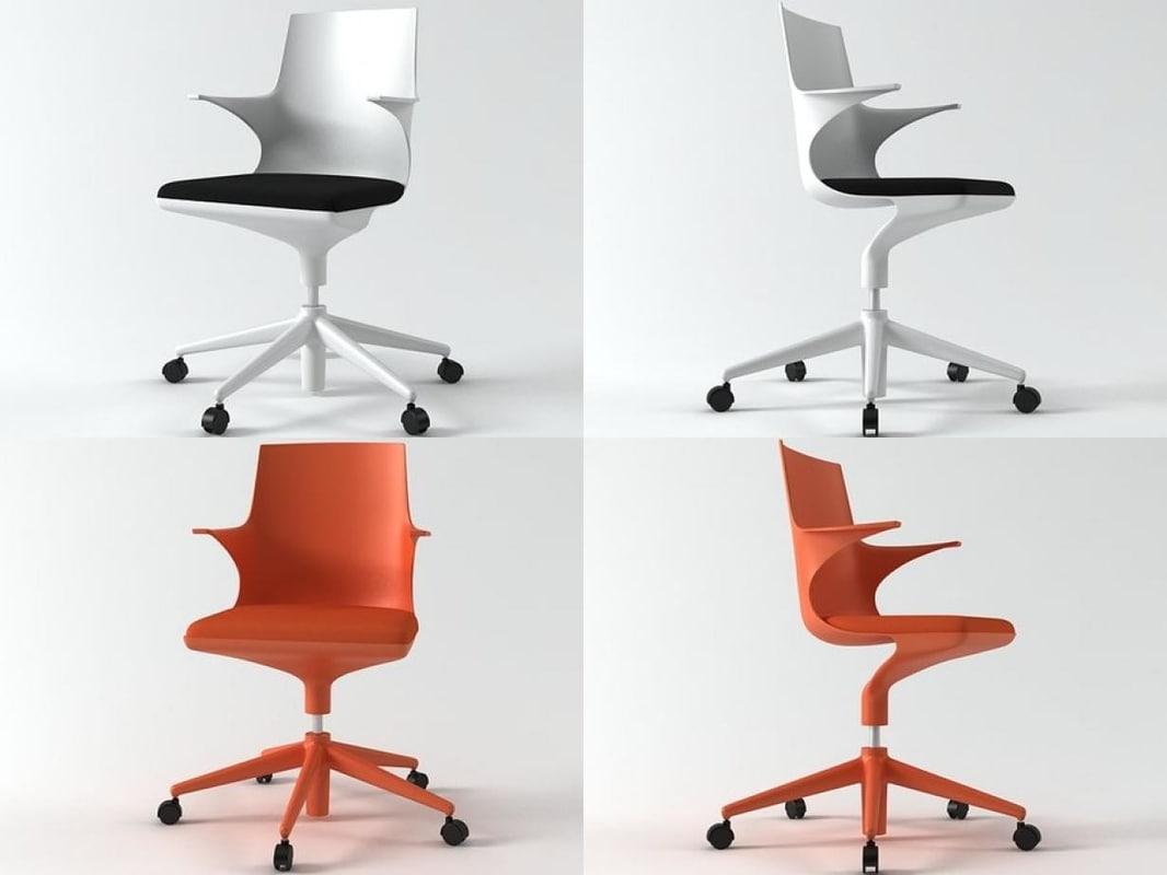 3D spoon chair