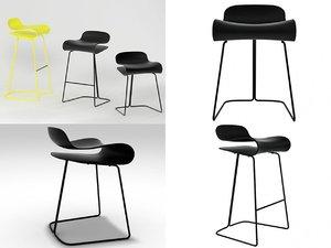 bcn stool 3D