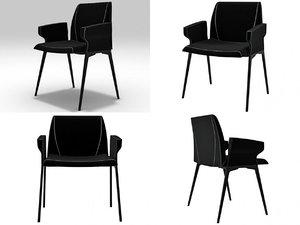plate armchair 3D model