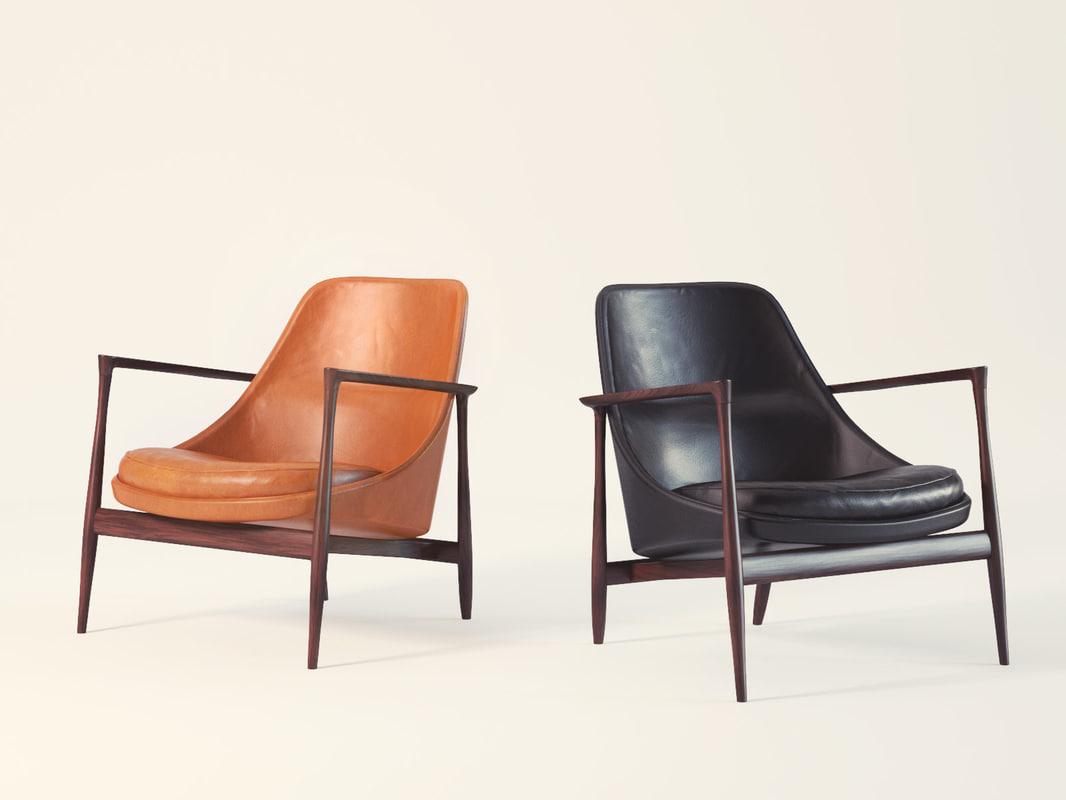 elizabeth chair 3D model