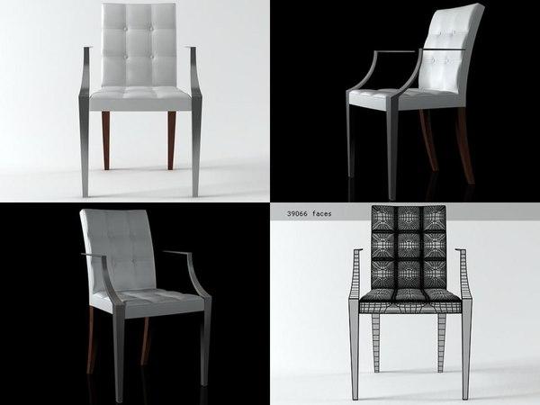 monseigneur chair 3D