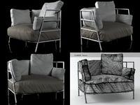 dehors fauteuil 370 3D model