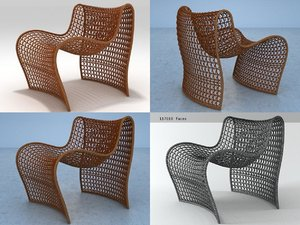 3D lola occasional chair