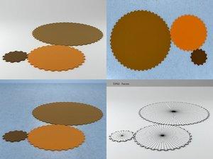 3D model carpet n