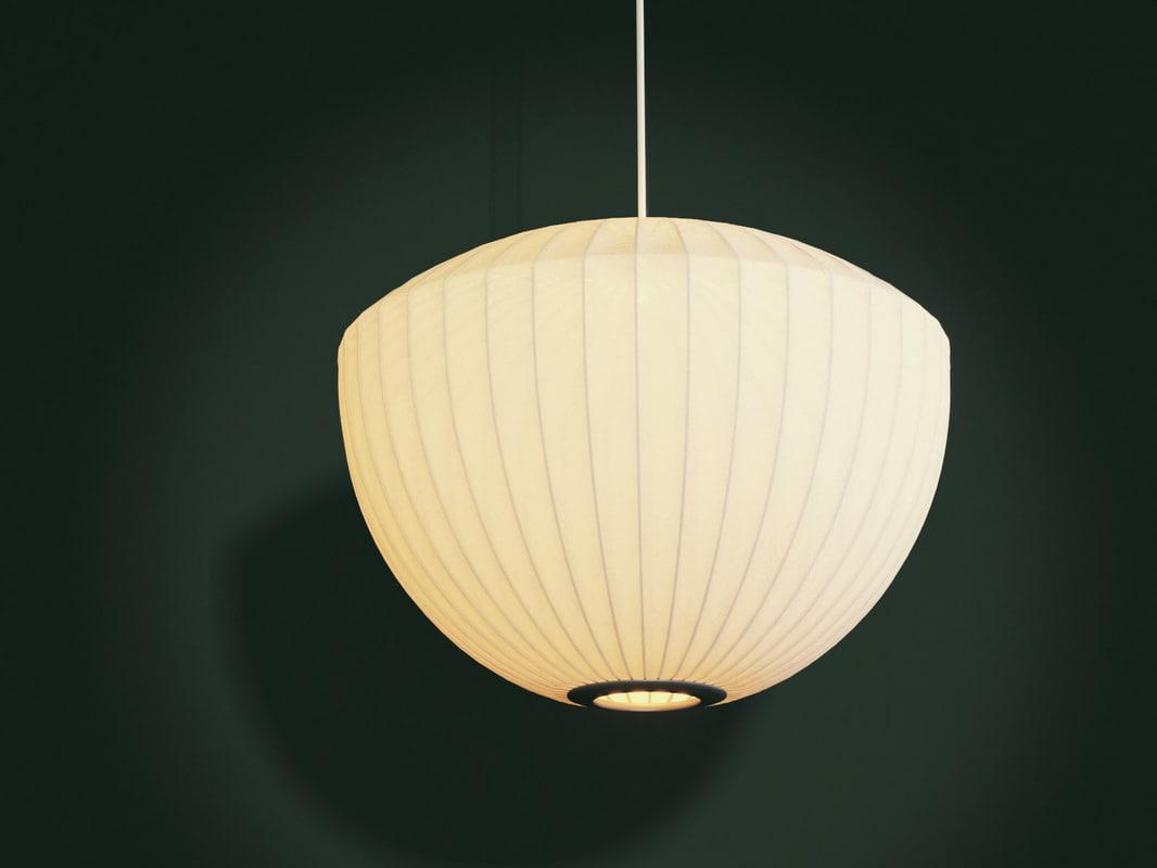 nelson bubble lamp - 3D