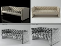edwards sofa 920-930 3D model
