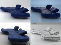 3D flap edra model