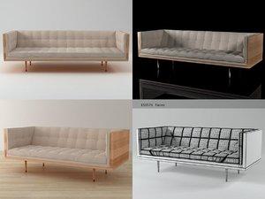 3D box sofa