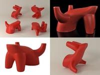 mico magis 3D model
