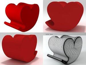 3D soft heart model