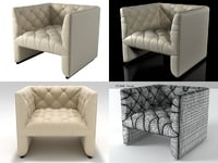 3D edwards armchair 912