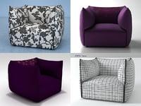 3D settanta armchair model