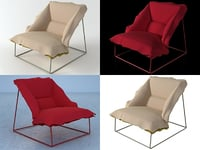 volant armchair demi 295 model