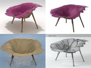 3D aguapé edra model