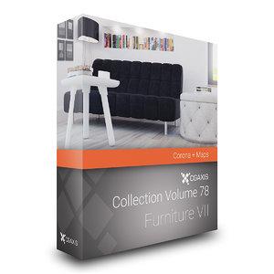 volume 78 furniture vii 3D model