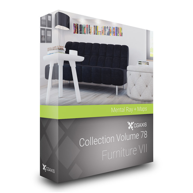 3D volume 78 furniture vii