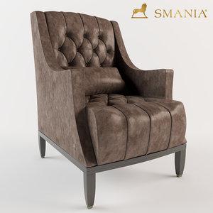 smania armchair model