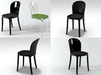 3D vanity chair model