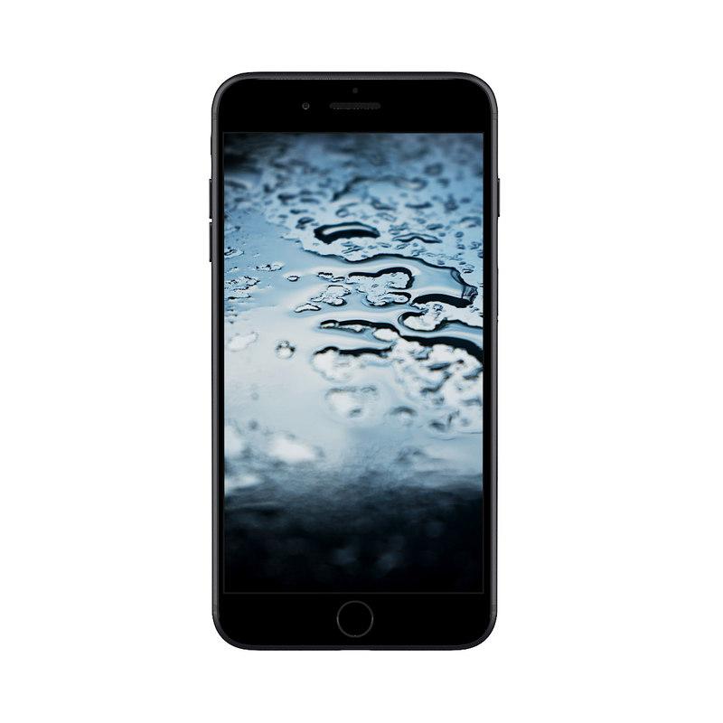 iphone black 3D model