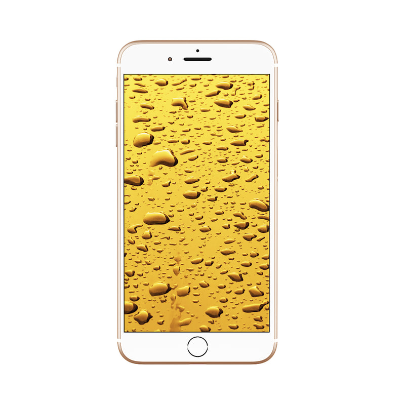 iphone gold 3D model