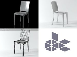 hudson chair 3D model
