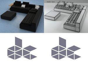 domino 10 3D model