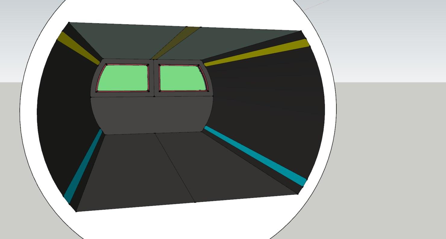 3D ce corridor