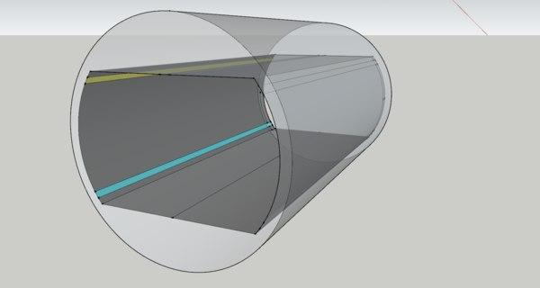 ce corridor 3D model