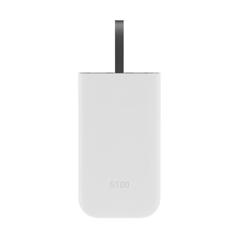 3D white battery pack