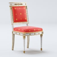 3D antique chair empire