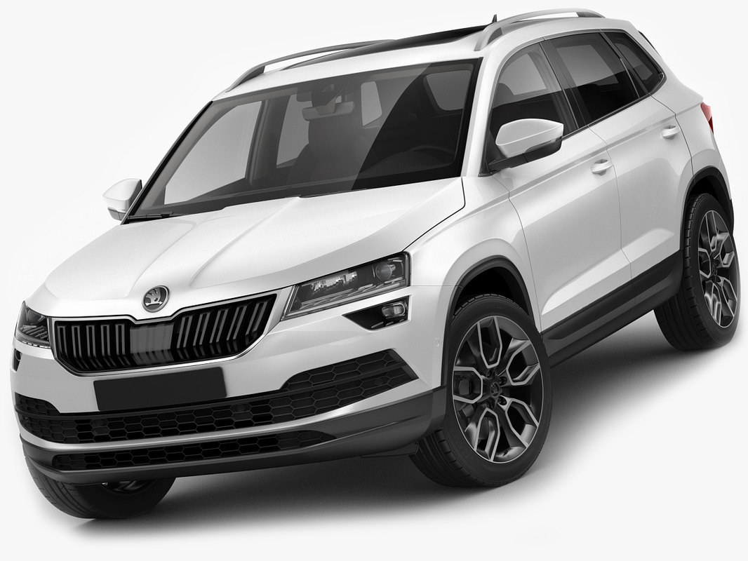 skoda karoq 2018 3d model turbosquid 1183893. Black Bedroom Furniture Sets. Home Design Ideas