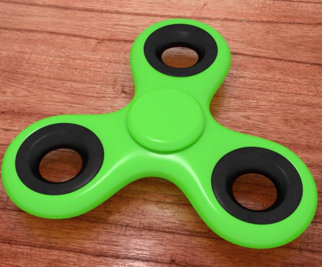 3D fidget spinner animations games