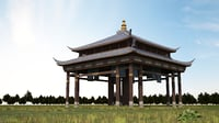 super luxury pavilion model