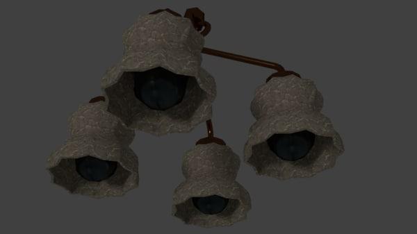 light room 3D model