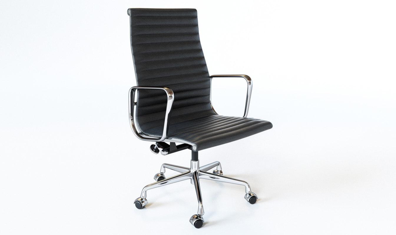... 3D Eames Aluminum Group Executive Chair Model ...