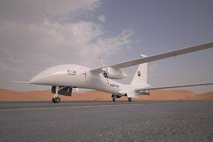 3D adcom united 40 drone model