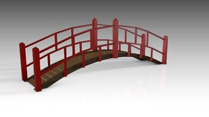 3D model chinese bridge