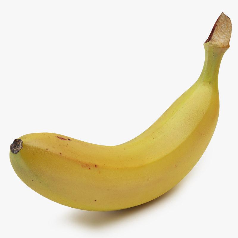 banana 01 3D model