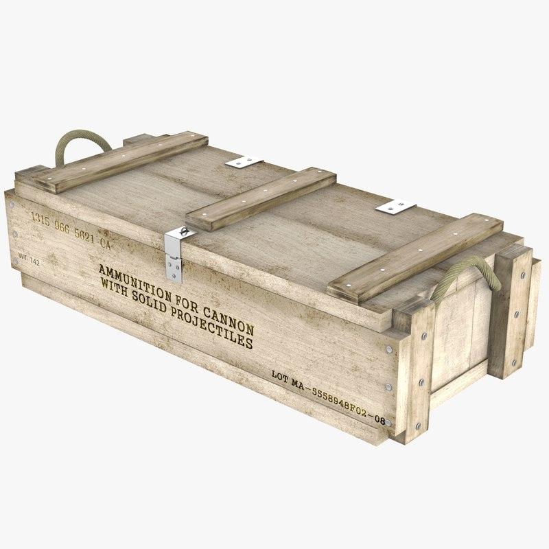 3D ammo crate v2