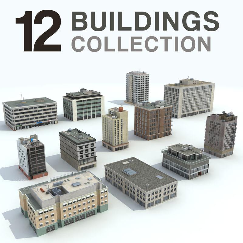 Office Skyscraper Buildings