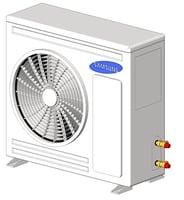 REVIT - A/C 6kW Condenser RC060DHXEA
