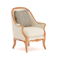 Classical Armchair with Pillow