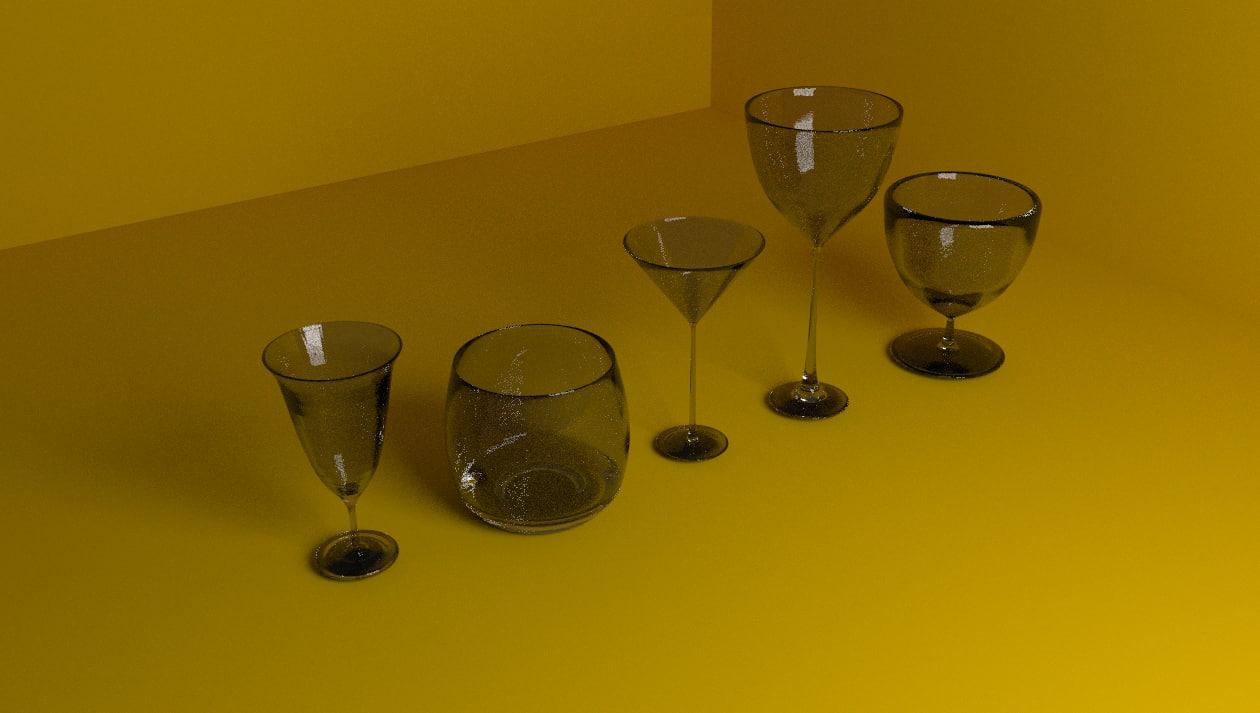 set cups model