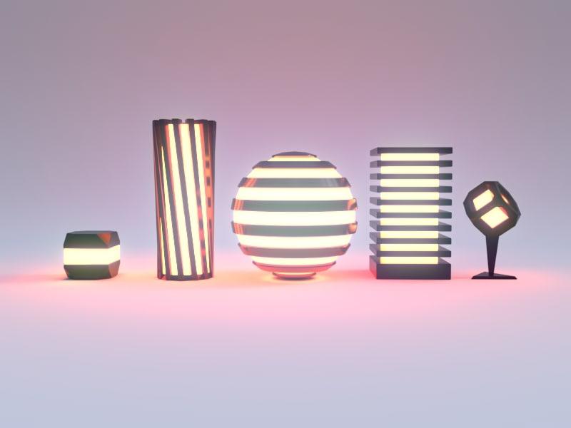 table lights model