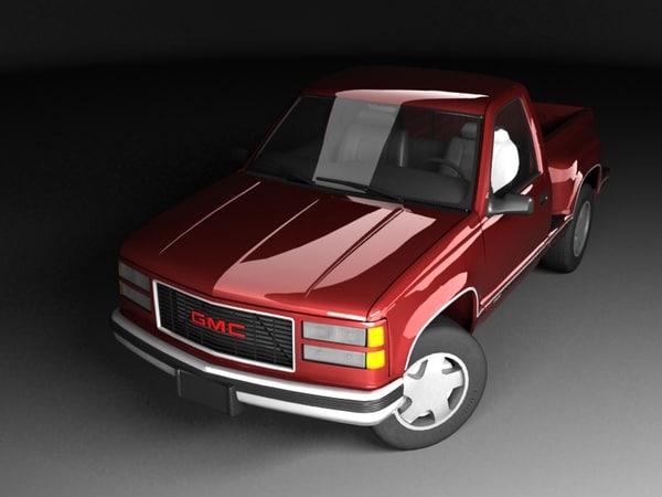 gmc c k pickup 3D model